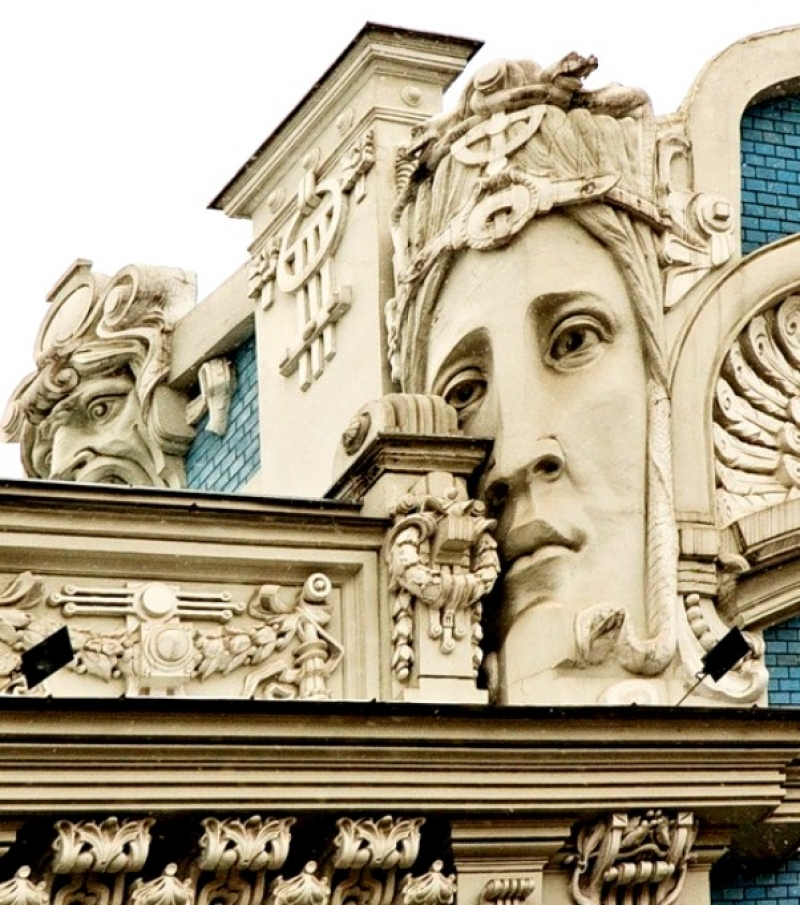 Михаил Осипович Эйзенштейн - человек, создавший лицо города